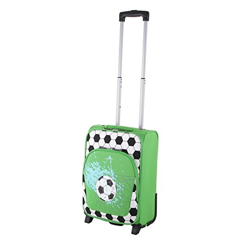 Let´s Go Reisekoffer für Kinder, Kleiner Trolley für Jungen und Mädchen mit verschiedenen Motive, Robustes Handgepäck mit 20 Liter Volumen