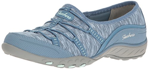 Skechers Women Breathe-Easy-Golden Low-Top Sneakers, Blue (Blu), 5 UK 38 EU