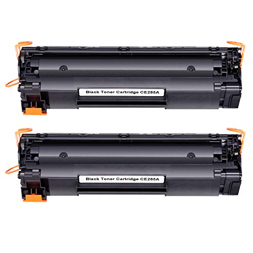 Hehua Kompatibel HP CE285A 85A Toner für HP Laserjet Pro P1102 P1104 P1104w M1130 M1132 M1134 M1136 M1210 M1212 MFP M1213nf M1217nfw MFP Drucker - 2Pack