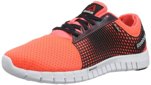 Reebok REEBOK Z RUN V54318 Damen Leichtathletikschuhe Mehrfarbig (PUNCH PINK/REEBOK NAVY/WHITE)