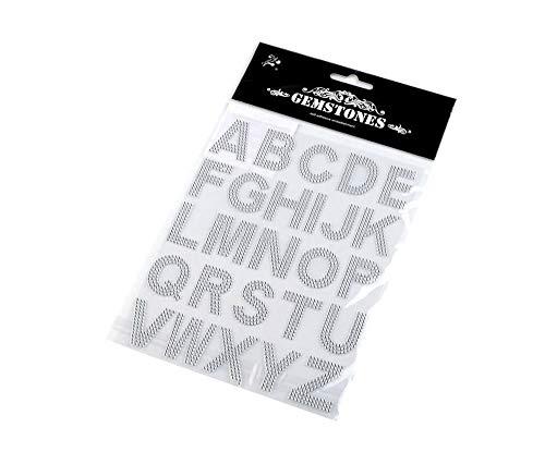 1kart Crystal Buchstaben Selbstklebend Strass, Verzierungen, Scrapbooking Und Quilling, Kreativbedarf