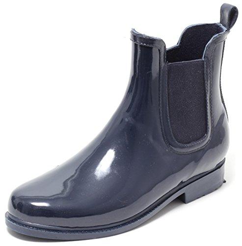 Zapato Chelsea Rain Boot Regenstiefelette Gummistiefelette Regenstiefel Gummistiefel Reitstiefelette Stiefel Navyblau Gr.38–41 (38)