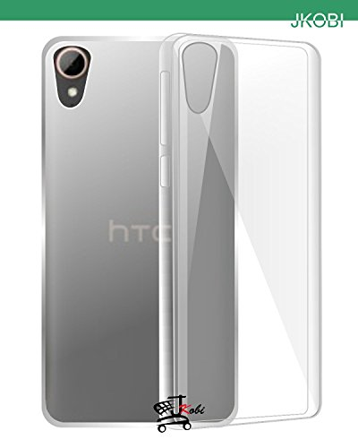 JKOBI(TM)Exclusive Soft Silicone TPU Jelly Crystal Clear Case Soft Back Case Cover For HTC DESIRE 828 DUAL SIM-TRANSPARENT