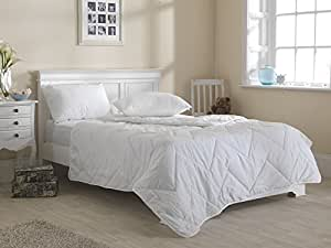 Slight Second 1.5 Tog Cotton Blend Hollowfibre Filled - Department Store Quality Duvets (Superking)