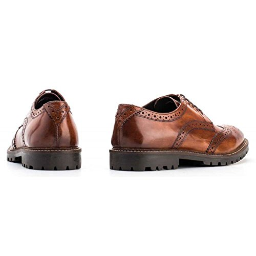 Base London Homme Trench Chaussures, Marron Marron