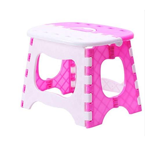 YJHFDS Kunststoff Klappstuhl mit Griff Outdoor Indoor Klappstuhl für Erwachsene Ideal für die Küche