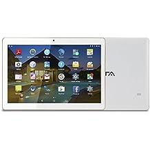 BEISTA Tablet de 10.1 Pulgadas (WiFi,Quad-Core,Android 5.1 Lollipop,HD IPS 1280x800,Doble Cámara,Doble Sim,OTG,GPS)- Color Blanco