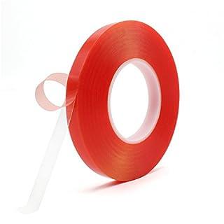 Doppelseitiges Klebeband, Atemto 164 ft PET Acryl Doppelseitiges Klebeband Tape 7.8mil Clear Tape Wetterfest Heavy Duty Hitzebeständigkeit Kleber Ultra Festigkeit Industrial Outdoor Tape (15mm)