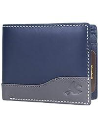 Hornbull Men's Buttler Genuine Leather RFID Blocking Wallet