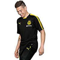 Puma Herren BVB Training Jersey with Sponsor Logo T-Shirt