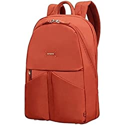 "Samsonite Lady Tech Rounded Backpack 14.1"" Mochila Tipo Casual, 14.5 litros, Color Rojo Rust"