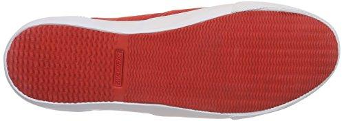Boxfresh Herren Sanford Flk Mesh/Sde Low-Top Rot (BOLD RED/GREY)