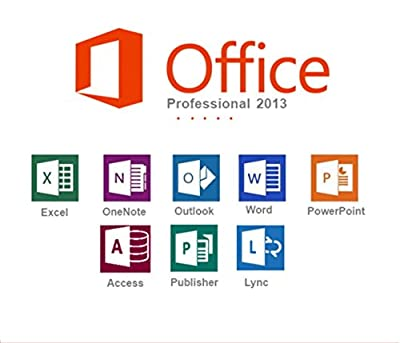 Microsoft Office Professional 2013 Full licence - 1PC (on USB Disc) - 32/64-Bit - multilingual