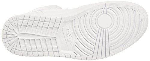 Nike Mens Air Jordan 1 Mid Basket Scarpe Avorio (weisspure Platino Bianco)