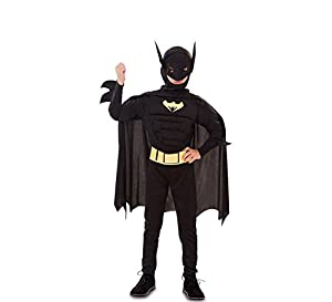 Fyasa 706080-t02muscular bate Hero disfraz, tamaño mediano