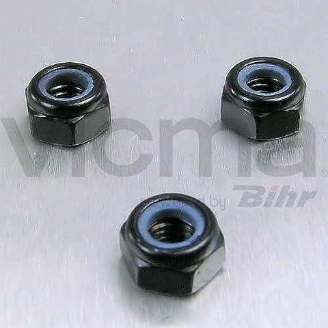 PRO-BOLT - 50117 : Tuerca De Aluminio Autoblocante M6 Negro Lnyn6Bk
