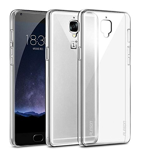 Lilypin Best Quality Silicon Totu Back Cover for One Plus 3 - Clear