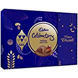 Cadbury Celebrations Premium Assorted Chocolate Happy Diwali Gift Pack, 286.3g