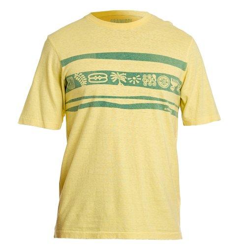 Acacia Tee (gramicci Herren Stempel Stripe Strike Tee, Herren, Acacia)