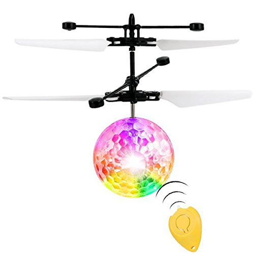 Cool Low cost allimity RC Flying Ball, Infrared Induction Helicopter Ball Toy with Colourful LED Lights and Distant Management for Youngsters Youngsters Youngsters Opinions