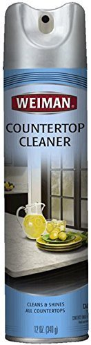 Weiman Counter Top Cleaner & Polish, 12 oz