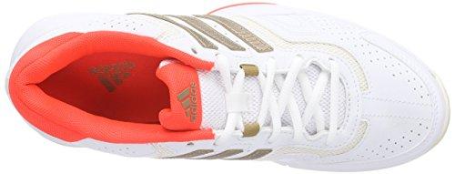 adidas Barricade Court W Damen Tennisschuhe Weiß (Ftwwht/Coppm)