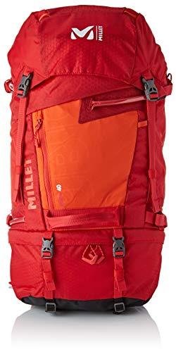 MILLET Herren Ubic 40 Rucksack, Mehrfarbig (Rouge/Orange), 24x45x15 Centimeters