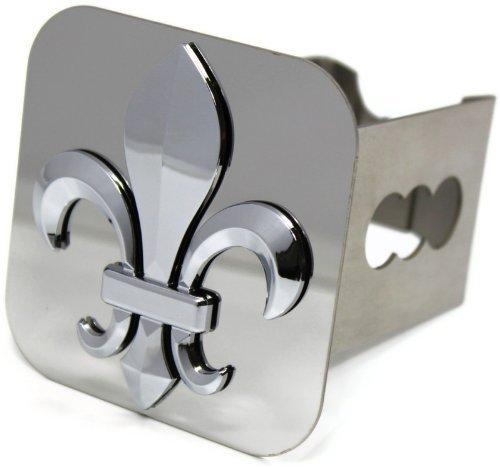 dantegts Chevy Corvette C6Fleur de Lis Logo Metall Abdeckung für Anhängerkupplung Plug 5,1cm Empfänger Stahl (Metall-anhängerkupplung Abdeckung)