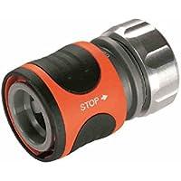 Gardena 08168-20 Raccordo Acqua-Stop Premium per Tubo da 13 mm (1/2 Pollici)