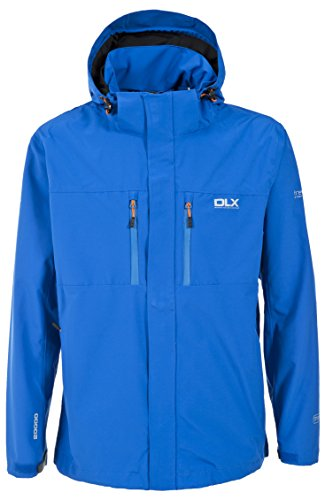 Trespass, Giacca impermeabile Uomo Oswalt Blu (Electric Blue)