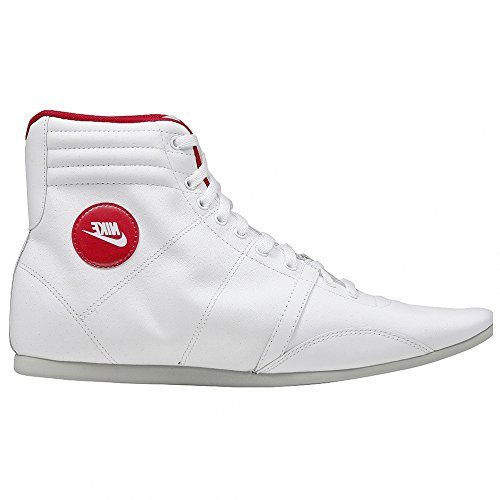 Nike Hijack Mid femmes Cuir chaussures / Boots - blanc white
