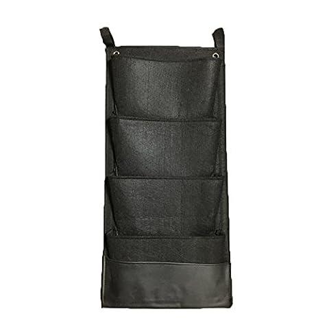 Glovion® Vertical Mur -Mounted croissance Sacs avec couche étanche ~ sûr à utiliser en intérieur ou extérieur-mural Solution de plantation (4 pockets)