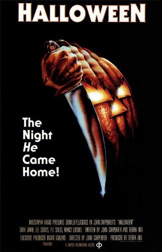 Halloween POSTER Movie (11 x 17 Inches - 28cm x 44cm) (1978) (Style D) by Decorative Wall Poster