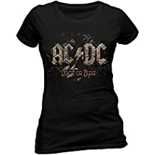 I-D-C Ac/Dc - Rock Or Bust - Camiseta Mujer