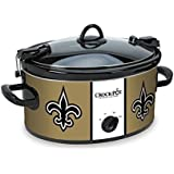 Crockpot SCCPNFL600-NO Crock-Pot New Orleans Saints Cook & Carry Slow Cooker , Old Gold