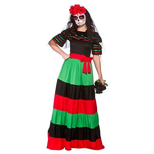 Imagen de wicked  disfraz de mexicana para el día de los muertos  46 48cm alternativa
