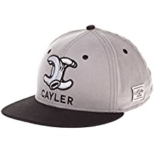 Cayler and Sons Still No.1 Cap Grey Suede Black White