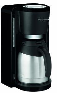 Rowenta CT 3818 Kaffeemaschine Milano,  850 Watt, schwarz,26,5 x 27 x 38,5 cm