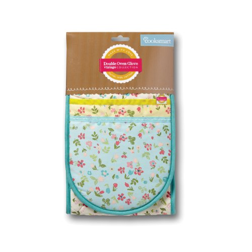 cooksmart-spring-meadow-double-oven-glove-multi-color