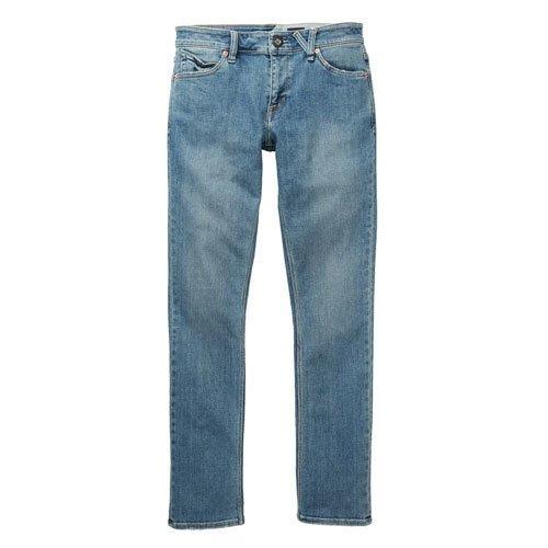 Volcom Herren, Straight Leg, Jeans, 2X4 DENIM SEVENTIES INDIGO