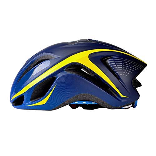 XGHW Fahrradhelm, Herren und Damen Mountainbike Reithelm Helmausrüstung Starke Schlagfestigkeit (Farbe : 4, größe : 56-62cm)