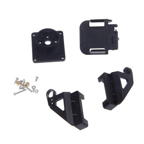 Andoer Kunststoff Kit PT Pan / Tilt-Kamera-Plattform Anti-Vibration Berg für FPV RC - 2