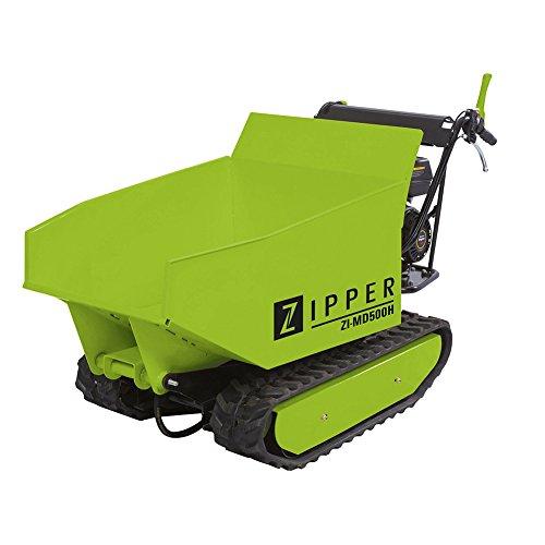 Miniraupendumper 4,8 kW / Ladekapazität 500 kg / Kippfunktion / mit Schneeschild