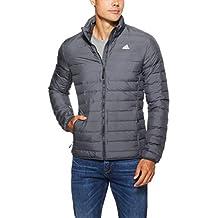 Amazon.es: abrigo adidas hombre - Gris