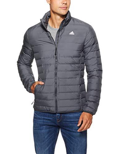 adidas Herren Sport Jacket VARILITE Soft J, Carbon, M, - Herren Steppjacke Adidas