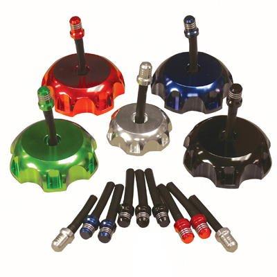 Cap Direct Vent (Fuel Cap MX mit Vent Ventil YZ > 02blau (passt 62mm OD Gewinde))