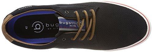Bugatti Herren 321494016900 Sneaker Schwarz (Schwarz)