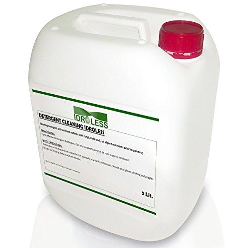 Detergente Limpiador Anti Moho sin disolventes Idroless - 1 Ltr