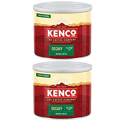 Kenco Decaff Freeze Dried Instant Coffee 500g (2 Tins) by Kenco