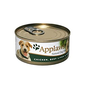 Applaws Dog Food Chicken, Beef Liver & Vegetable 24 x 156g 3744g by Applaws